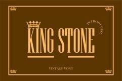 KING STONE Product Image 1