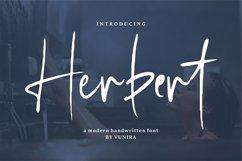 Herbert   A Modern Handwritten Font Product Image 1