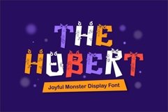 Web Font Hubert Font Product Image 1