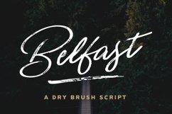 Belfast - A Dry Brush Script Product Image 1