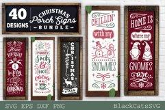 Christmas porch signs bundle SVG Vertical signs SVG Bundle Product Image 5