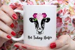 Heifer SVG Bundle, not today heifer svg, heifer please svg Product Image 4