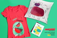 6 illustrations about Baby and Mom Product Image 3
