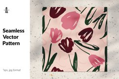 Tulip seamless pattern Product Image 1