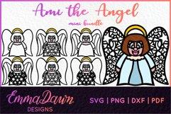 AMI THE ANGEL SVG MINI BUNDLE 7 DESIGNS Product Image 1