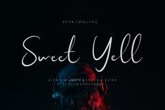 Sweet Yell - A Fun Handwritting Product Image 1