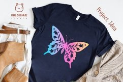 Butterfly SVG, butterfly PNG, butterfly silhouette Product Image 4