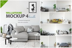 Wall & Frames Mockup - Bundle Vol 4 Product Image 1