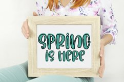 Among The Tulips- A Quirky Handlettered Font Product Image 3