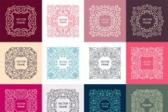 24 Vintage Vector Frames Collection Product Image 2
