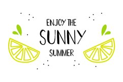 Hot Summer Textured Font Product Image 5