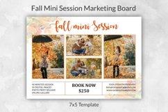 Fall Mini Session Template | Autumn Mini Session Template Product Image 1