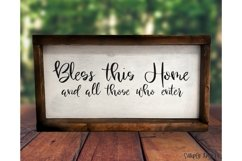 Home Sweet Home - a smooth handwritten script font Product Image 3