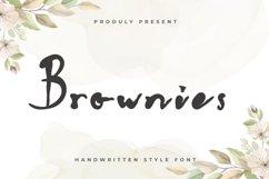 Brownies - Handwritten Display Font Product Image 1