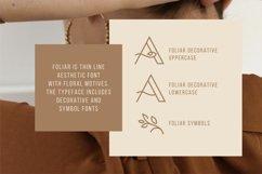 Foliar - Thin Line Logo Font Product Image 2