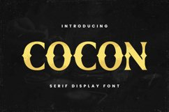 Cocon Font Product Image 1