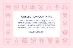 Line Icons - Animals Product Image 2