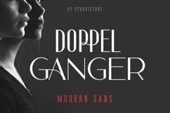 Doppelganger - Modern Sans Serif Product Image 1