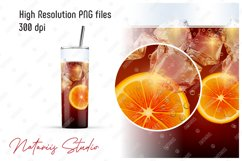 10 Realistic Drinks Patterns for 20oz SKINNY TUMBLER. Product Image 3