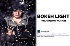 Bokeh Light Photoshop Action Product Image 1