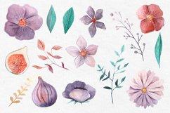 Watercolor Floral Clip Art Product Image 2