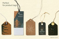 Abstract Linear Winter Background Collection Product Image 6