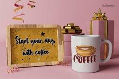 Web Font Caramel latte - Bold Handwritten Font Product Image 3