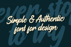 Aliensy | Handscript Font Product Image 3