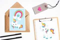 Baby Unicorn graphics and illustrations Product Image 4
