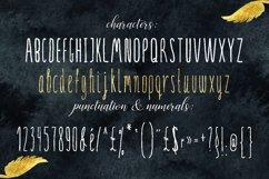 SERENA gold. Font Product Image 1