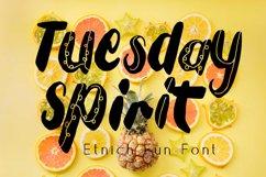 Tuesday Spirit Ethnic Font Product Image 1