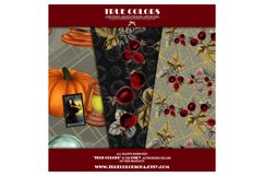 Halloween Digital Paper Pack Halloween Witch Product Image 4