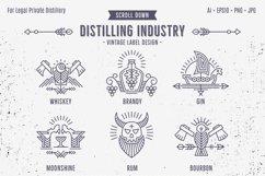 Distilling Industry: Vintage Labels Product Image 2