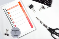 Pretty Five Subject Digital Notebook Product Image 2