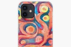 Seamless watercolor coral pattern Product Image 2
