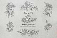 WILD FLOWERS Illustration Botanical Product Image 13