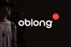 Oblong - logo font rounded modern Product Image 1