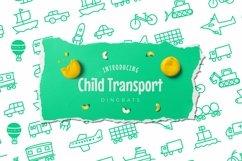Web Font Child Transport Dingbats Font Product Image 1