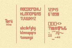 Torii - Japanese Style Typeface Product Image 5