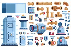Machinery Steampunk Industrial Pack Product Image 2