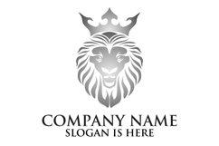 Lion face logo emblem template for business design Product Image 5
