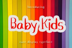 Baby Kids - Cute Display Font Product Image 1