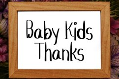 Baby Kids - Cute Display Font Product Image 3