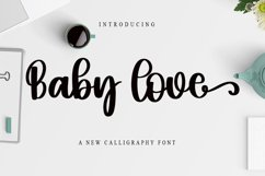 Baby Love - A New Calligraphy Font Product Image 1