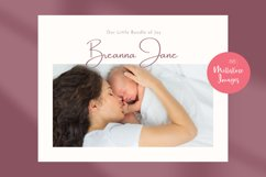 Baby Memory Book. Easy to Use Printable Canva Template Product Image 6