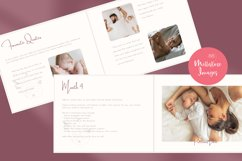 Baby Memory Book. Easy to Use Printable Canva Template Product Image 3