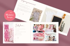 Baby Memory Book. Easy to Use Printable Canva Template Product Image 4