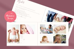 Baby Memory Book. Easy to Use Printable Canva Template Product Image 2
