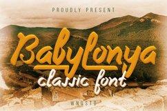 Babylonya - Handwritten Classy Font Product Image 1