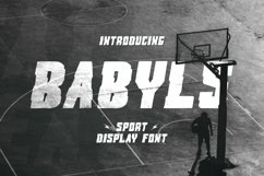Web Font Babyls Font Product Image 1